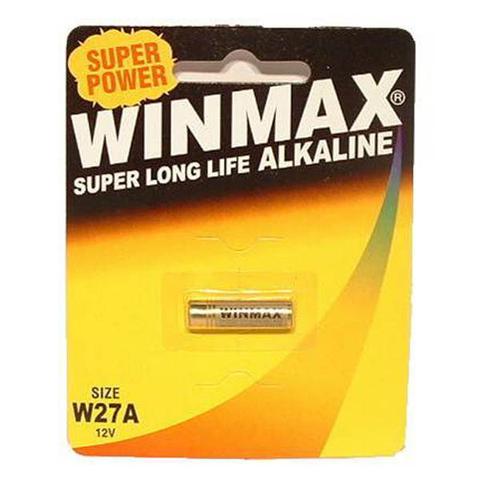 1 Pack Winmax W27a Alkaline Battery 1 item