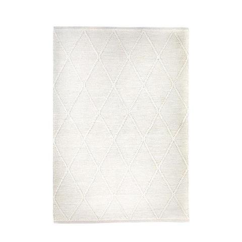 Colombo Cream Hand Woven Wool Rug 240 x 320 cm