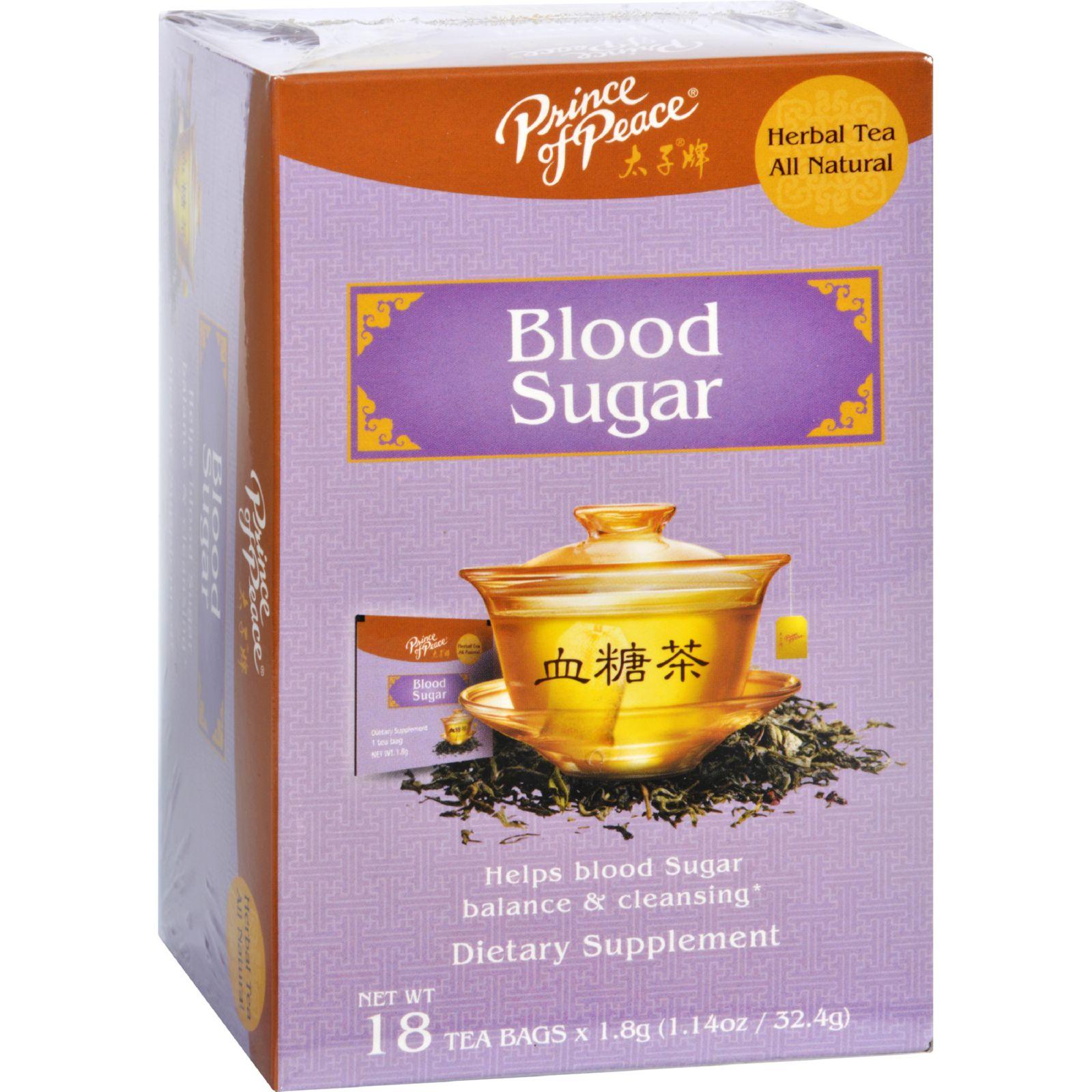 Prince of Peace Tea  Herbal  Blood Sugar  18 Bags