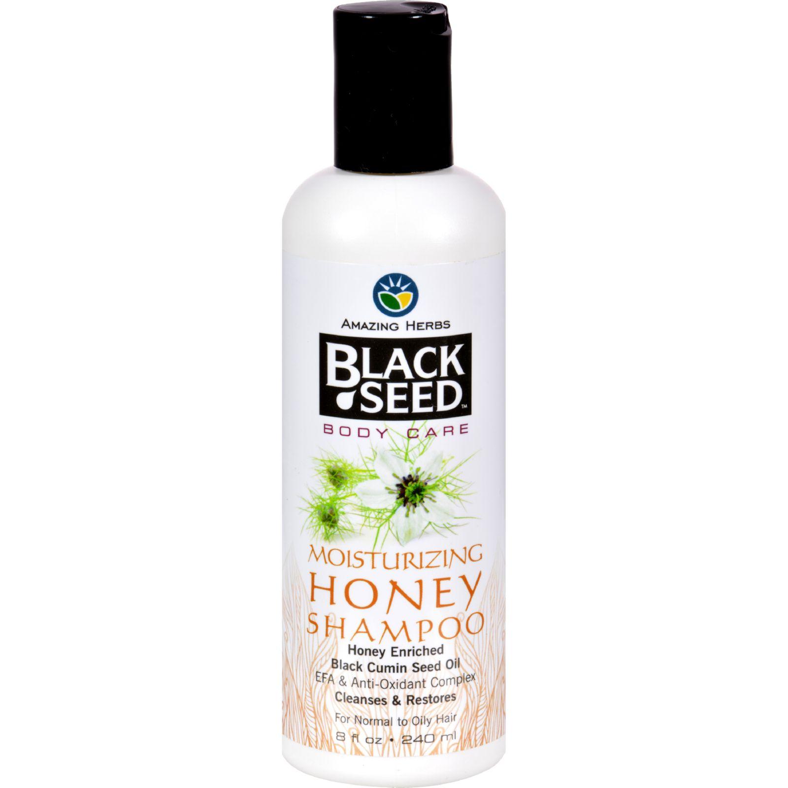 Black Seed Shampoo  Honey  8 Oz